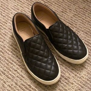 Quilted Top Slip Ons